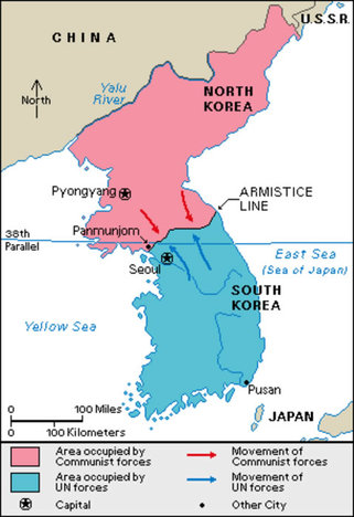 Question 2 chapter 37 the retreat from empire in a bipolar world examine the situations of korea and cuba in relation to the cold war competition between the soviet union and the united states gumiabroncs Choice Image